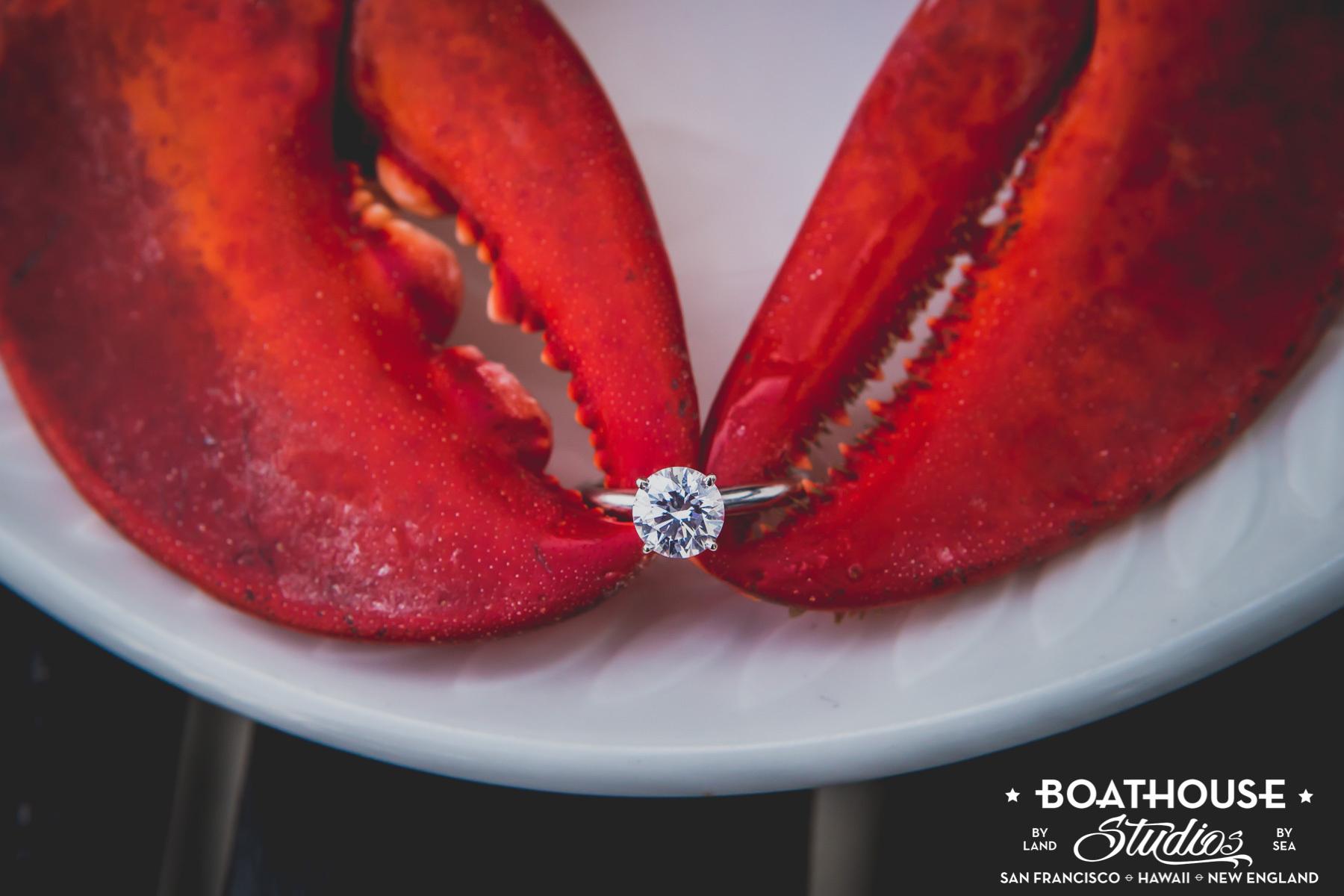 Hurricane & Lobster Wedding