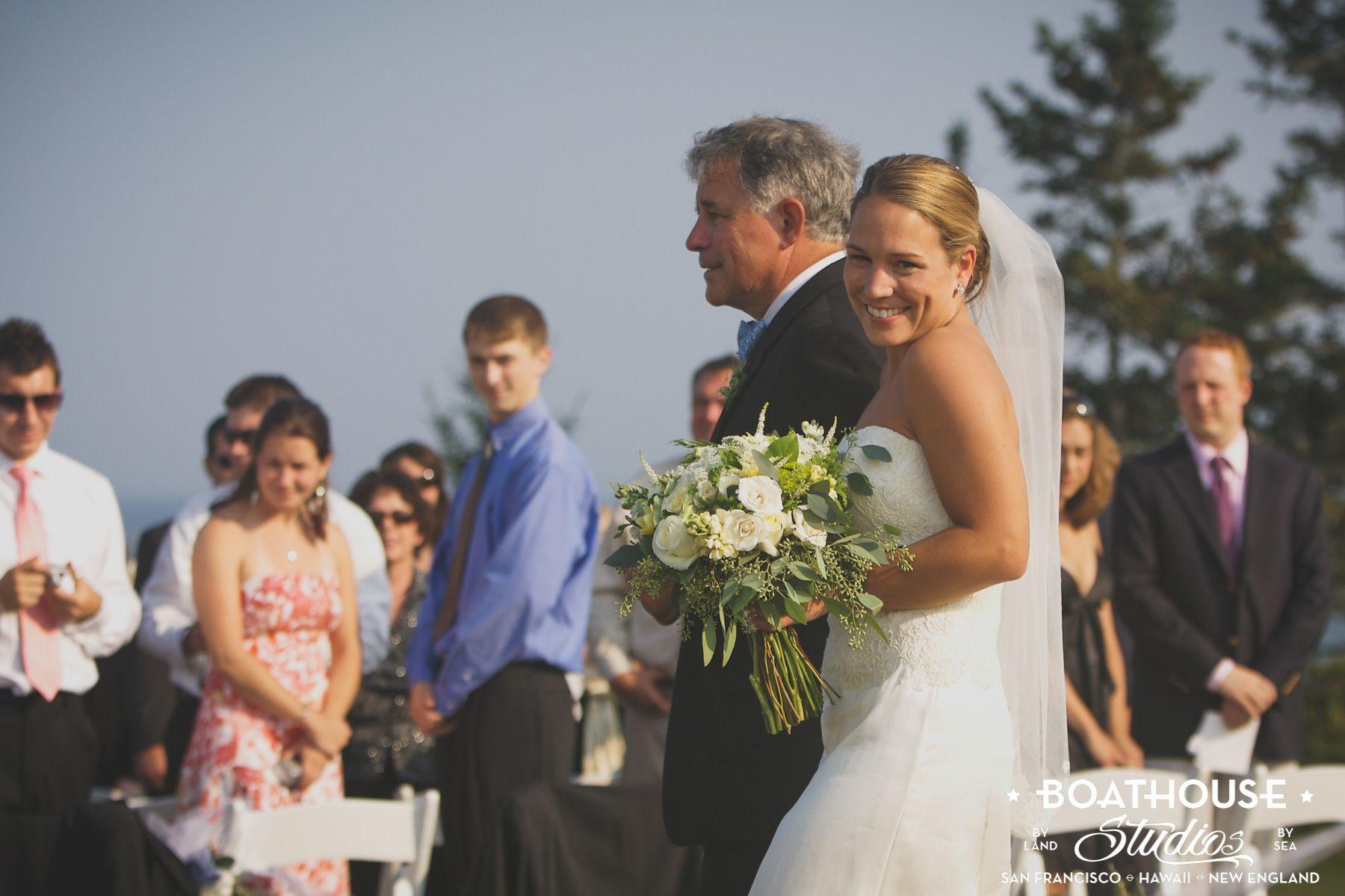 Saltwater Farm Wedding, St. George, Maine.