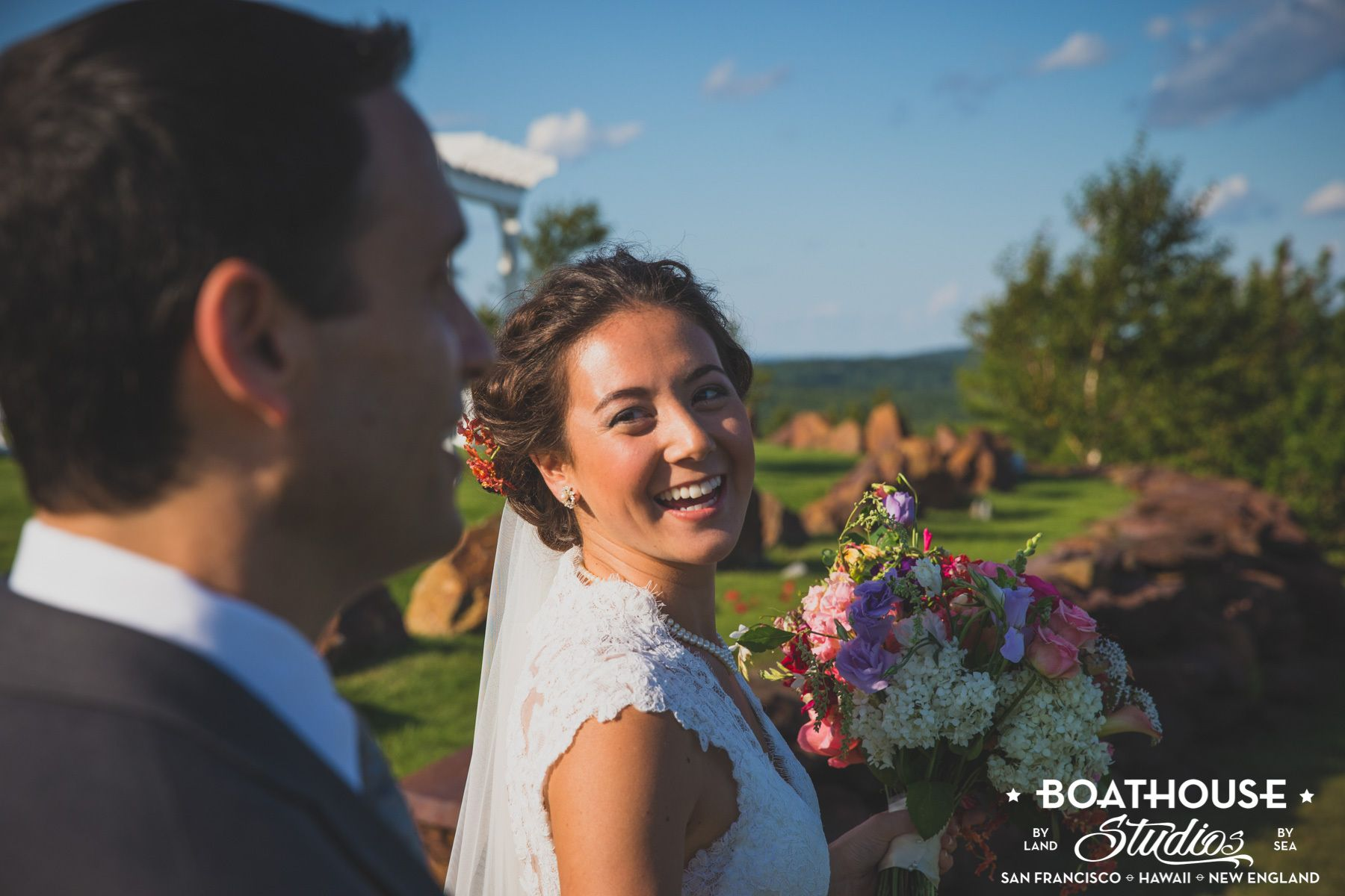 Mountaintop Wedding at Point Lookout Resort