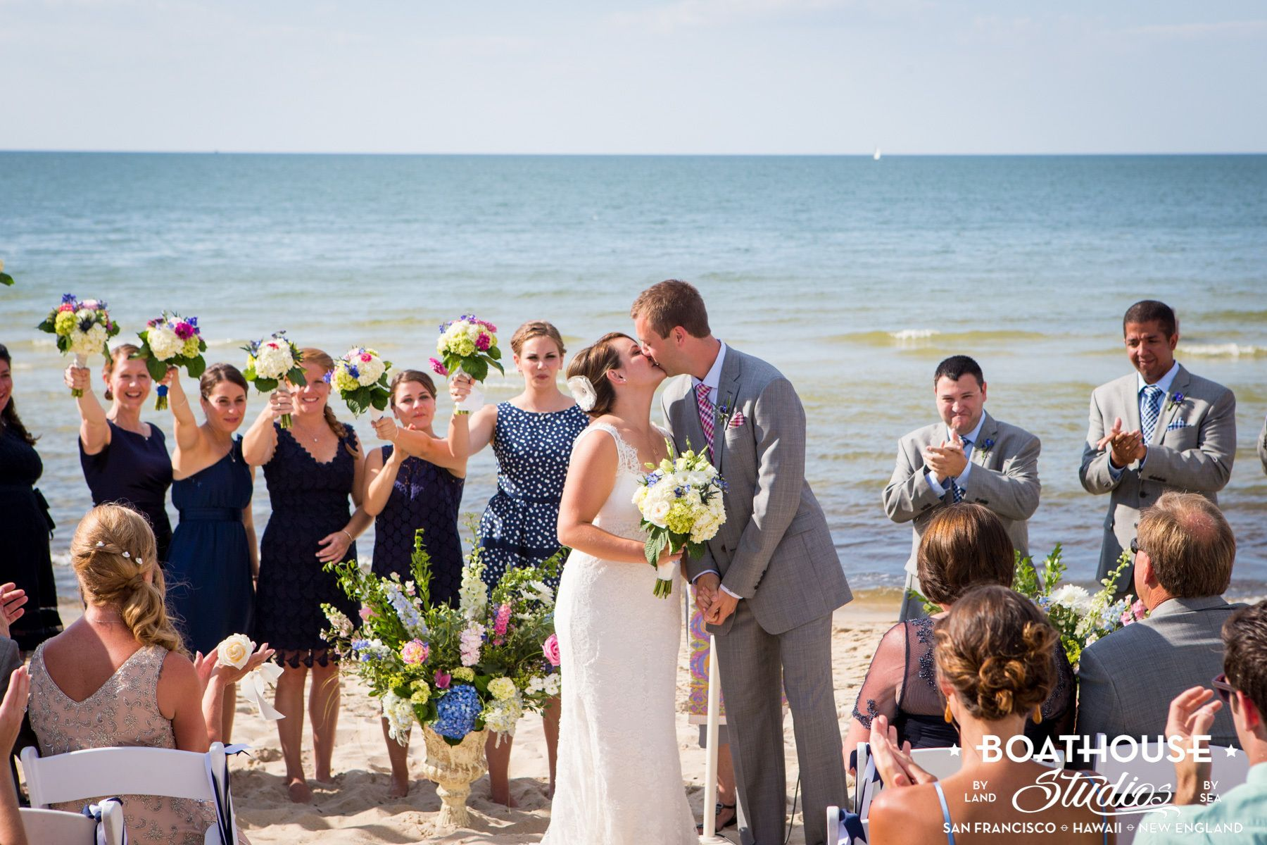Cape Cod Summer Beach Wedding