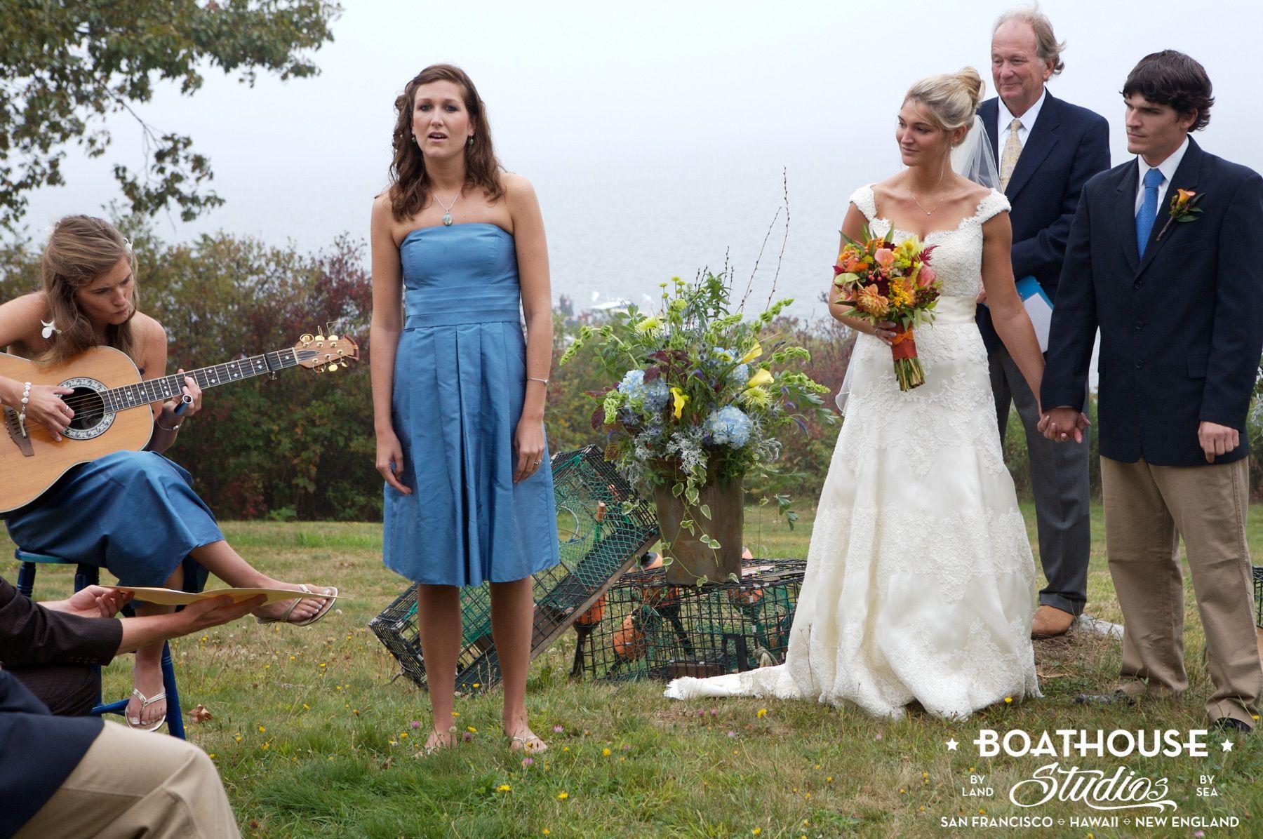 A Lobsterman's Island Wedding (Bustin's Island, Casco Bay)