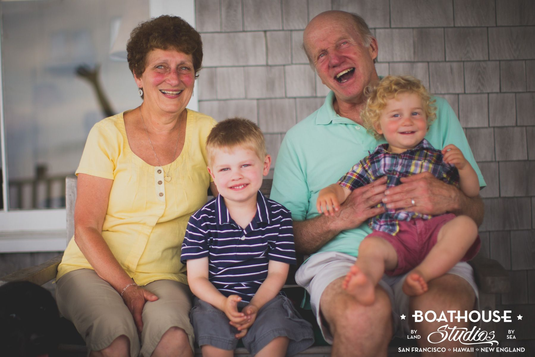Three Generations, One Summer Day