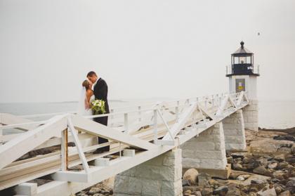 Saltwater Farm & Lighthouse Wedding