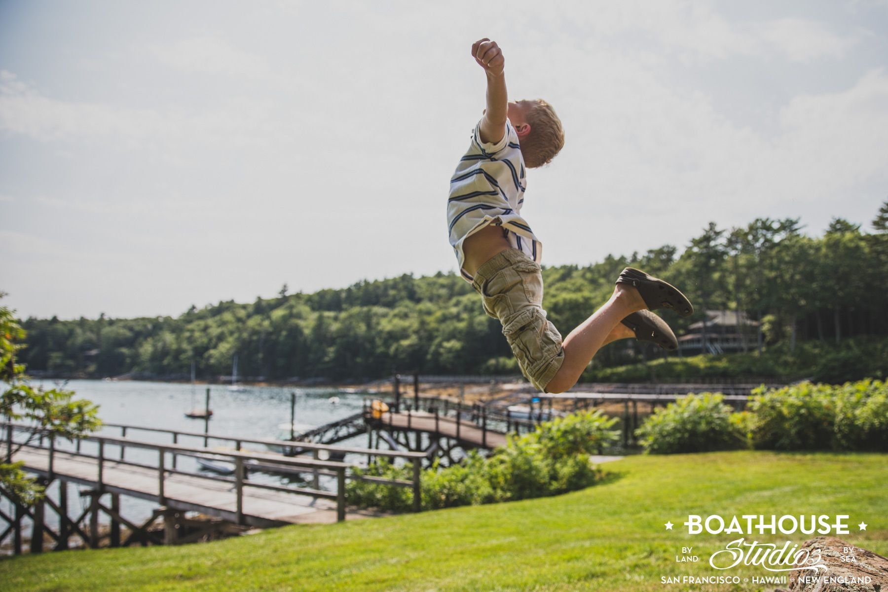 The Berkoff Family Photos via Maine Family Photographer (Boathouse Studios)
