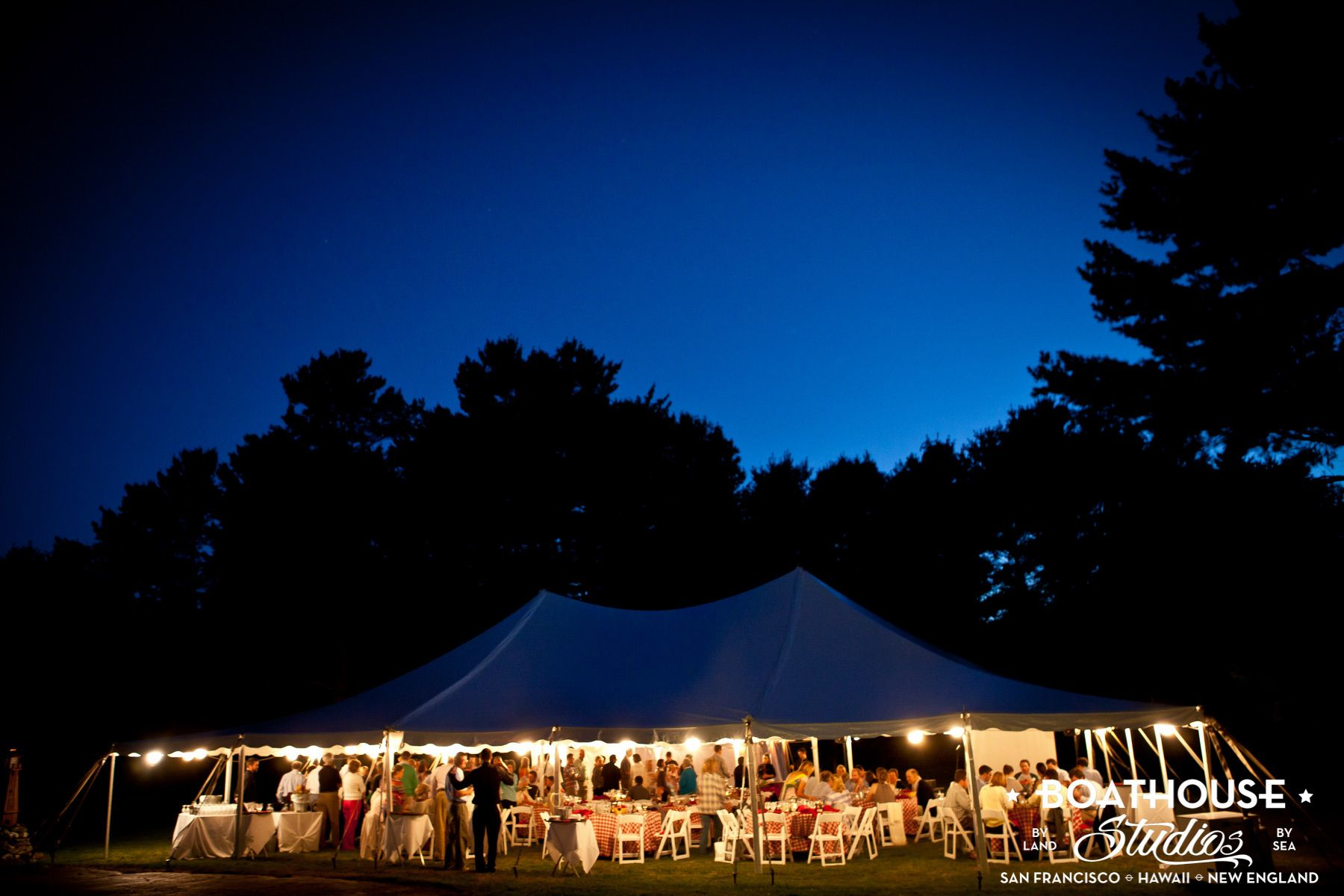 A Cousin's Island, Maine Wedding