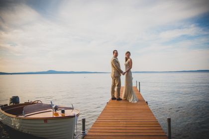 Lake Wedding at Private Compound