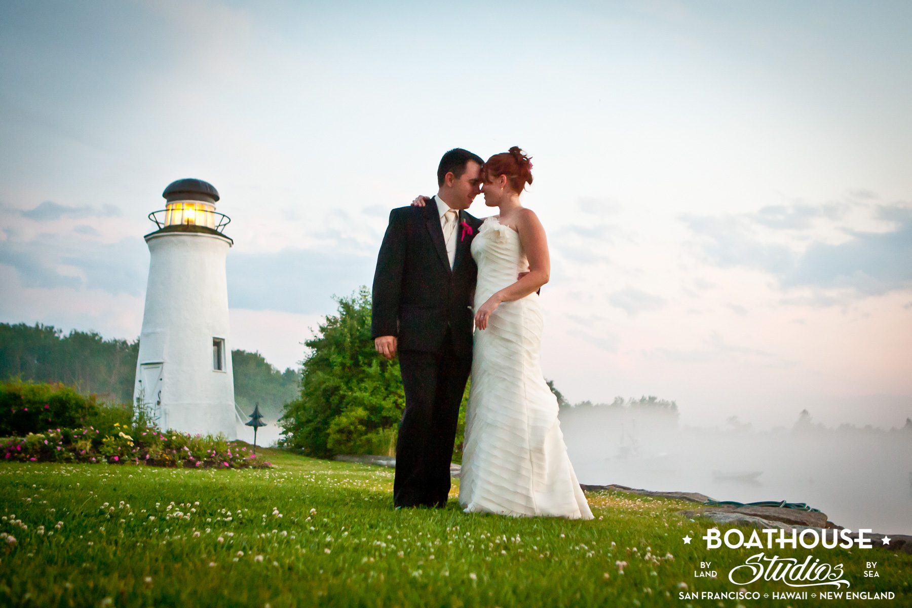Lighthouse Wedding at The Nonantum