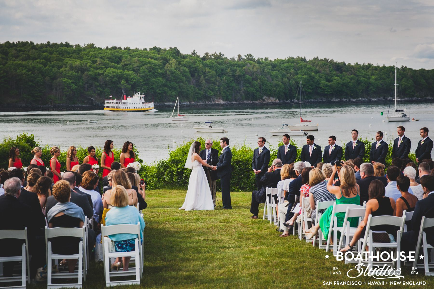 Peaks Island, Casco Bay Wedding (TEIA)