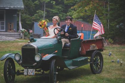 A Maine Lobsterman's Island Wedding