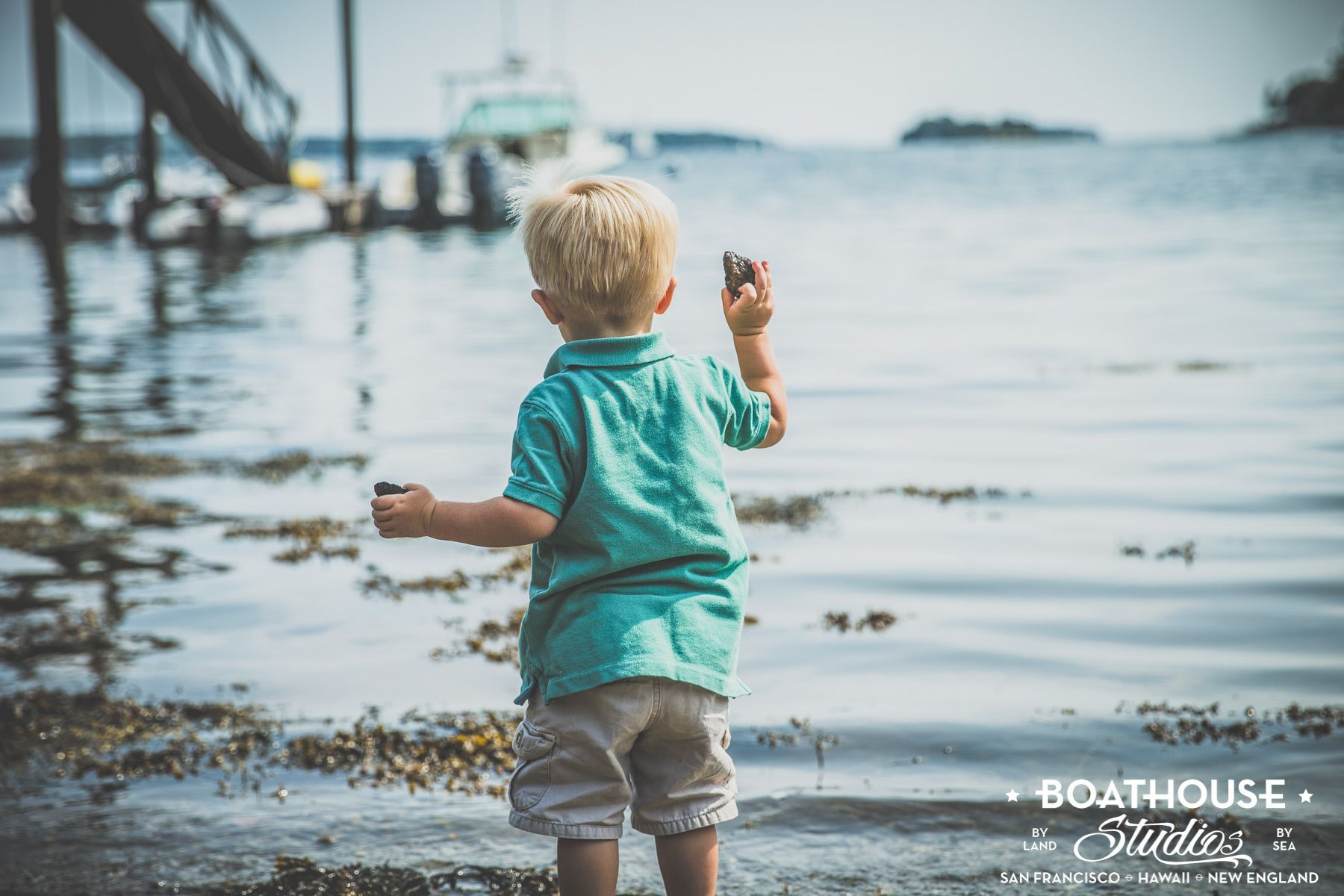 The Berkoff Boys in Boothbay Harbor, Maine