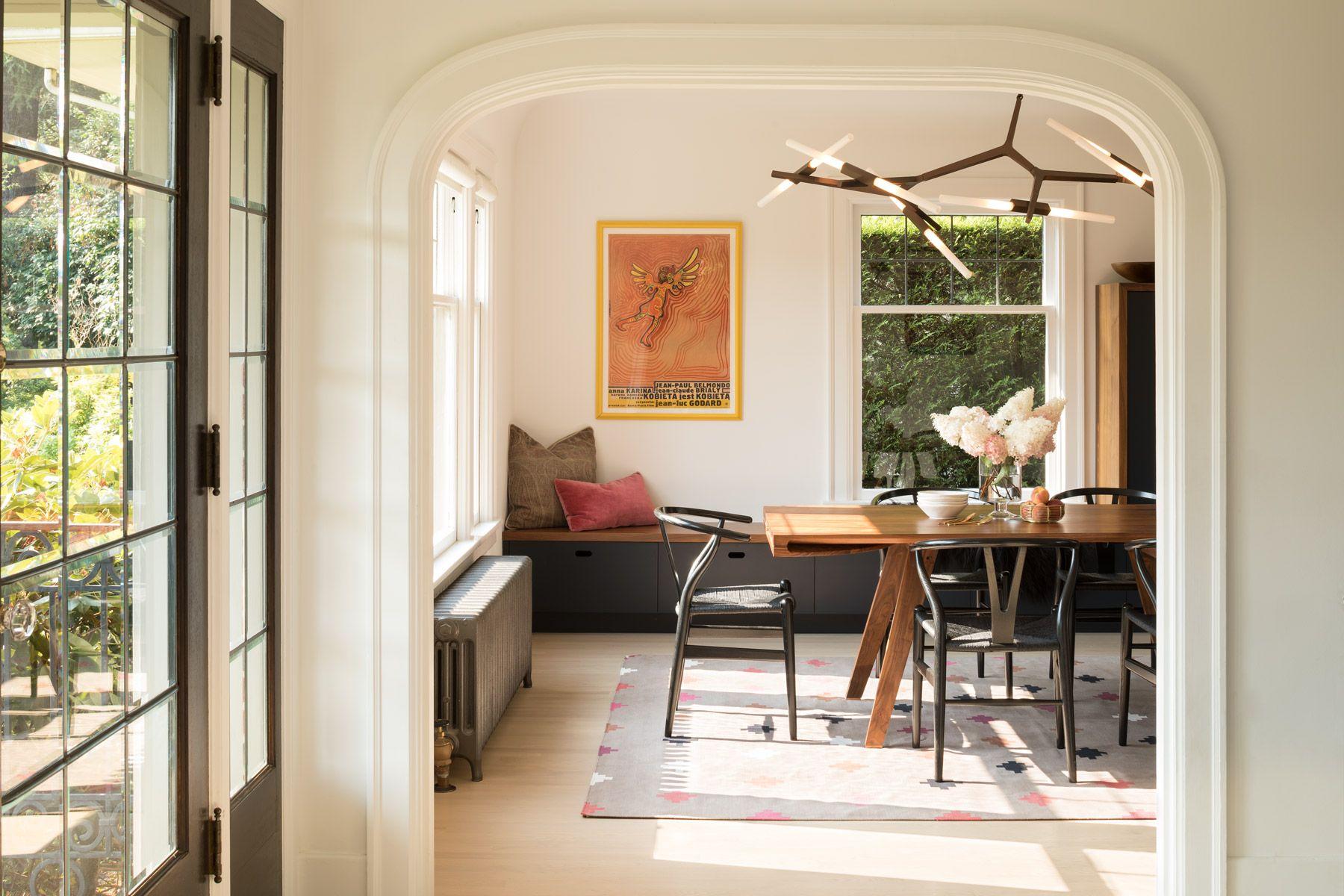 test kitchen living room