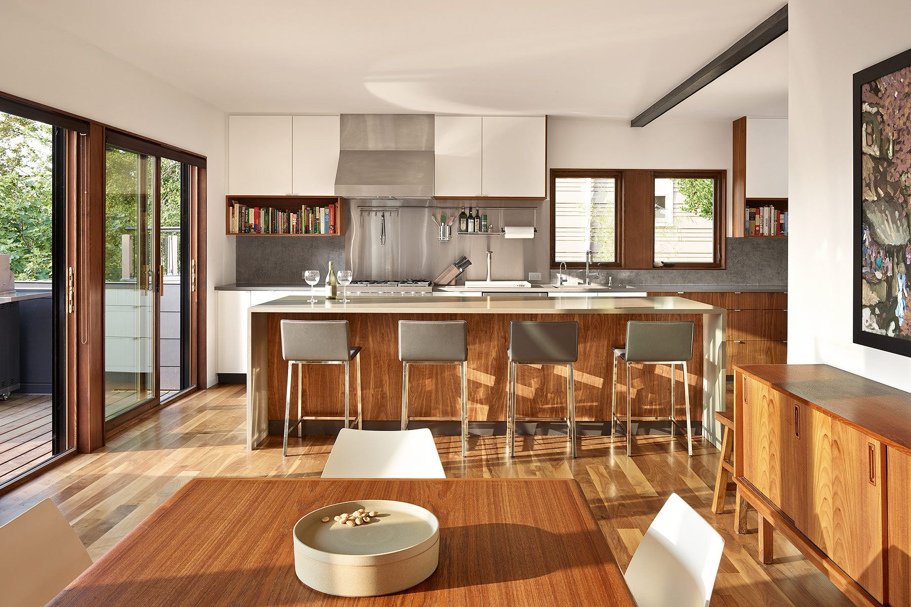 kitchen, archdaily, home design, architecture