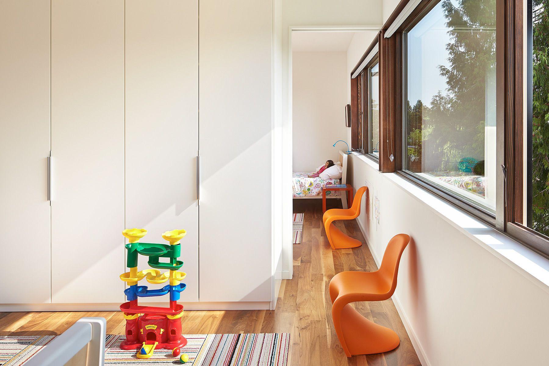 Interconnected Children's Rooms