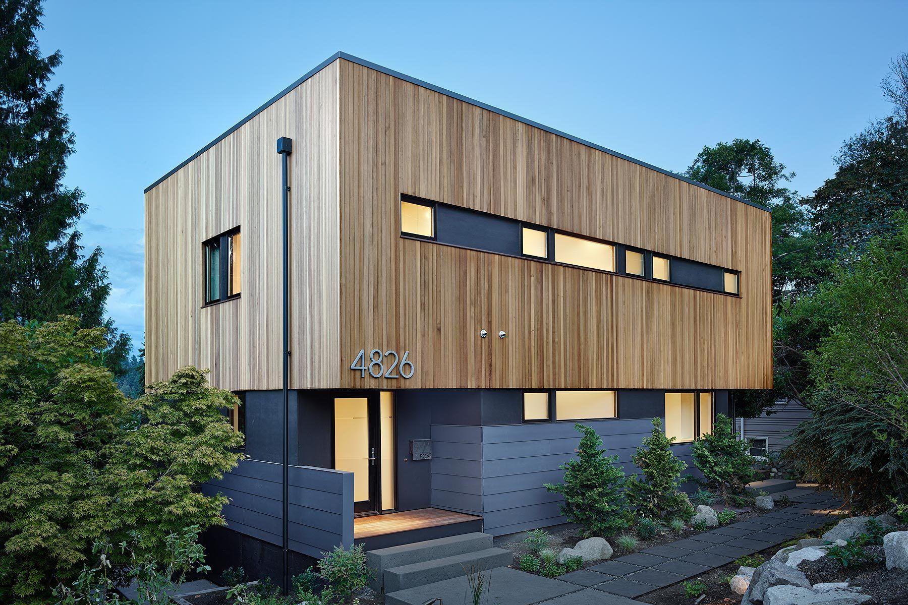 Modern Wood Architecture