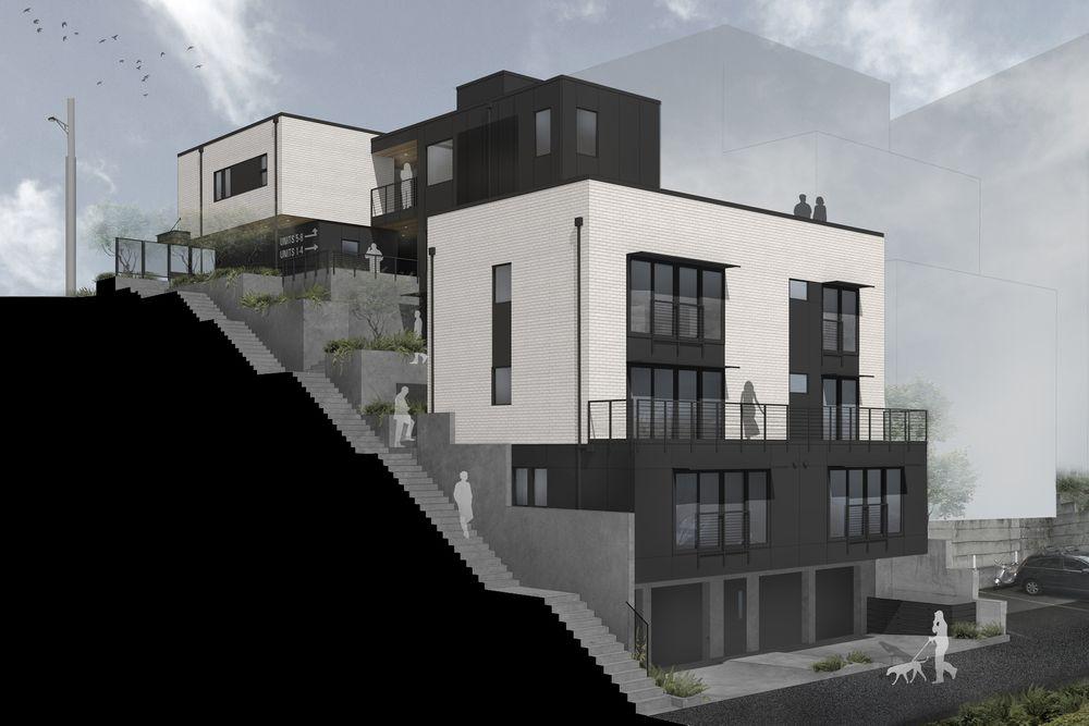seattle architect, apartment design, contemporay condo, live work