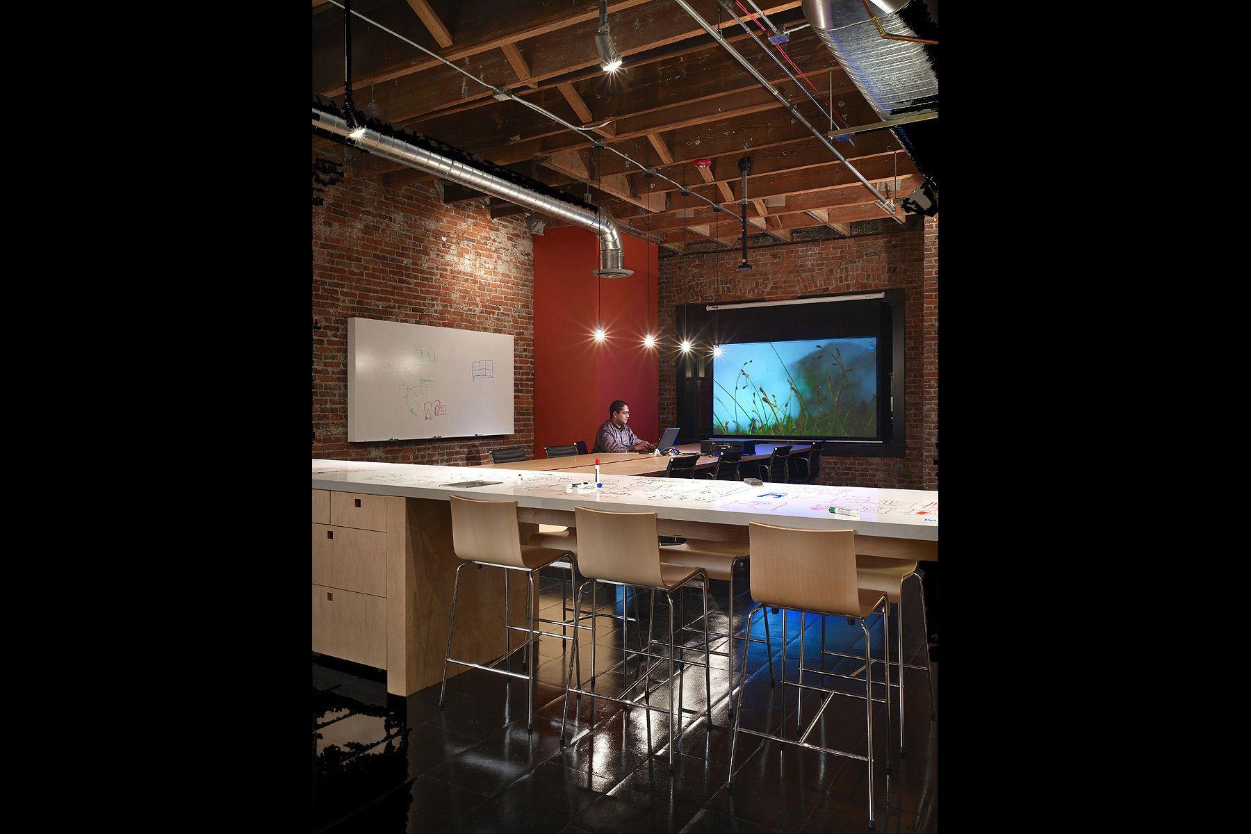 informal, communal, counter, modern, office