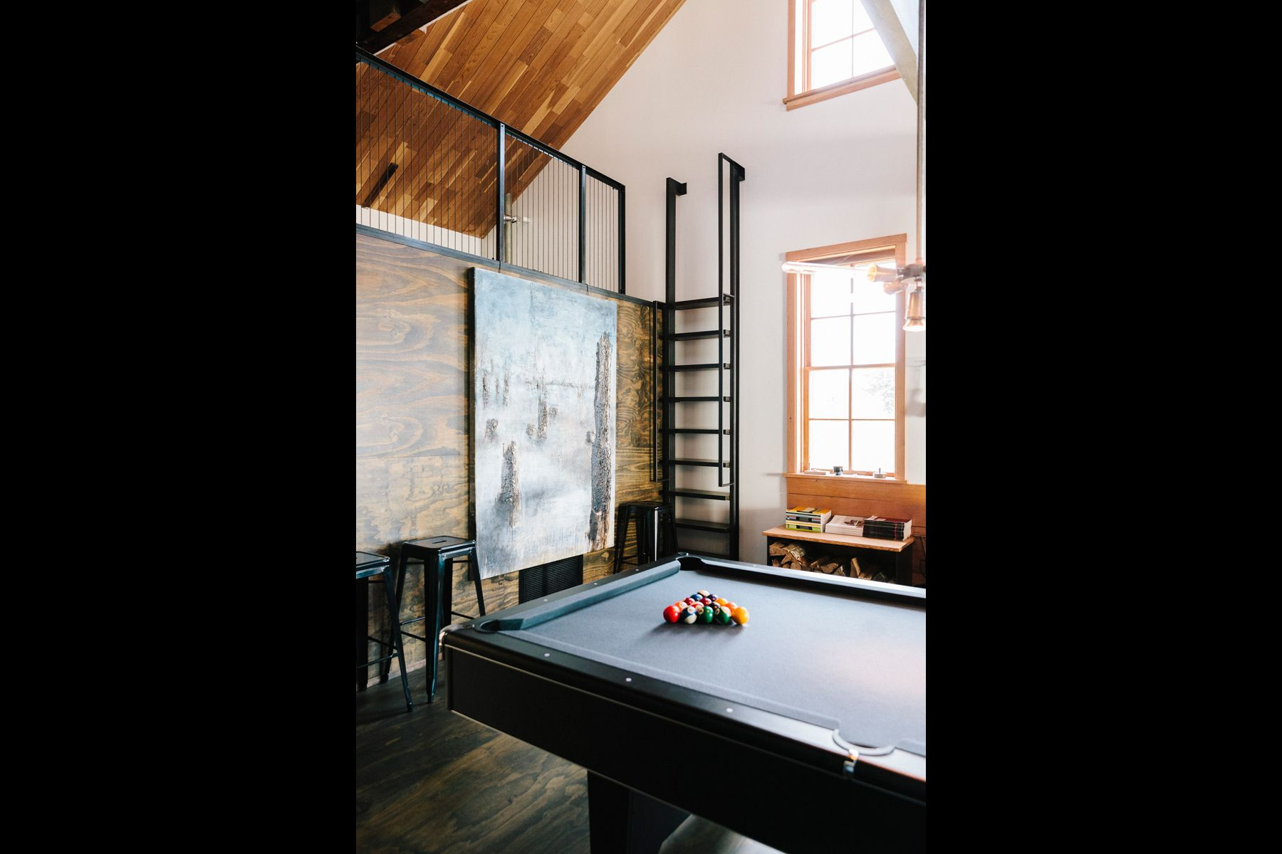 billiards, pool, 8 ball, loft, astoria