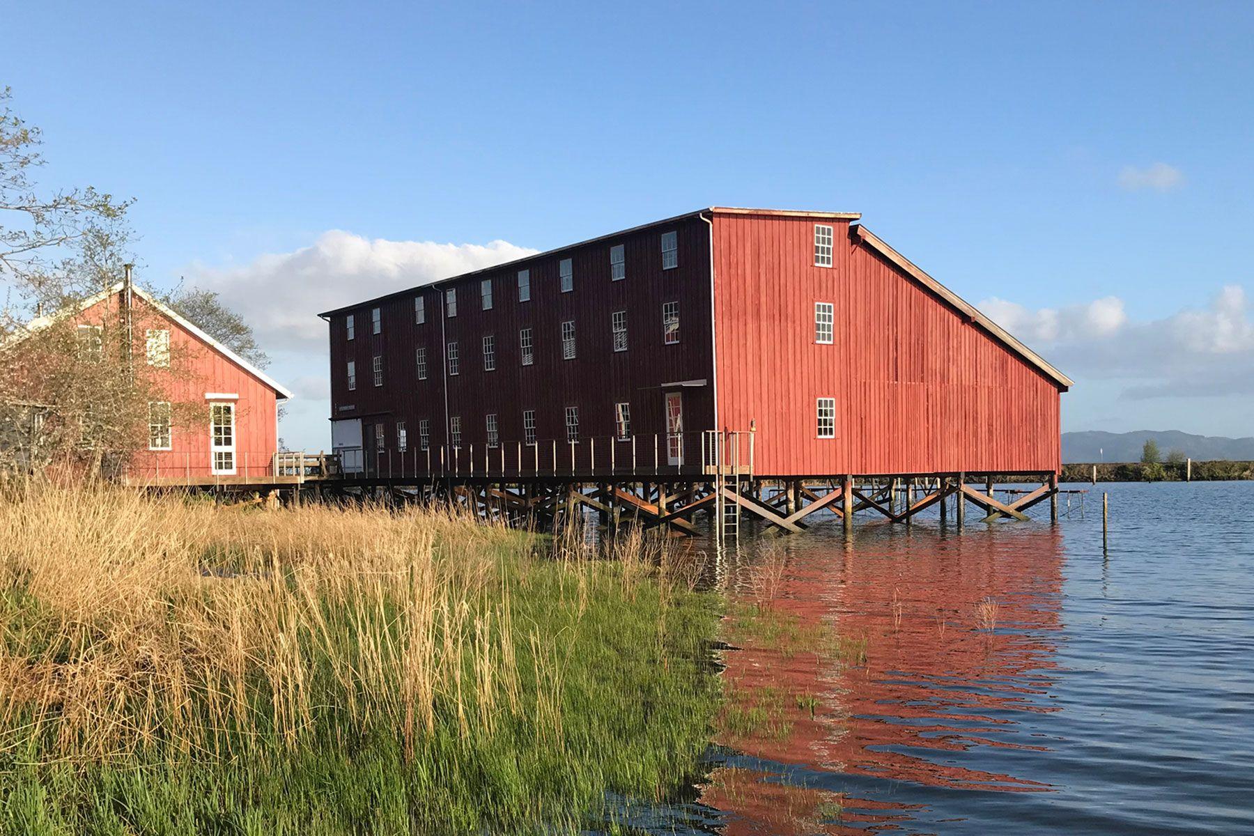 historic, marine, industrial, fishing, waterfront, retreat