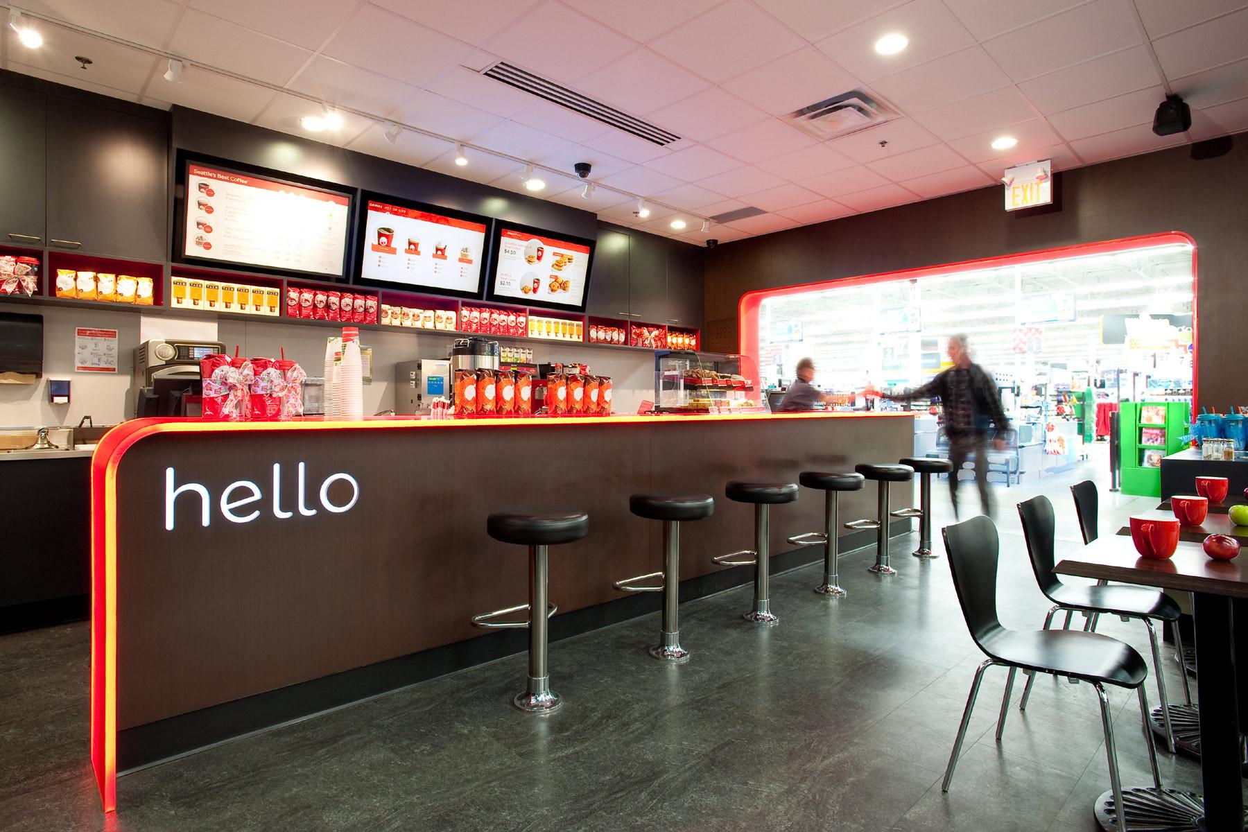 modern café design