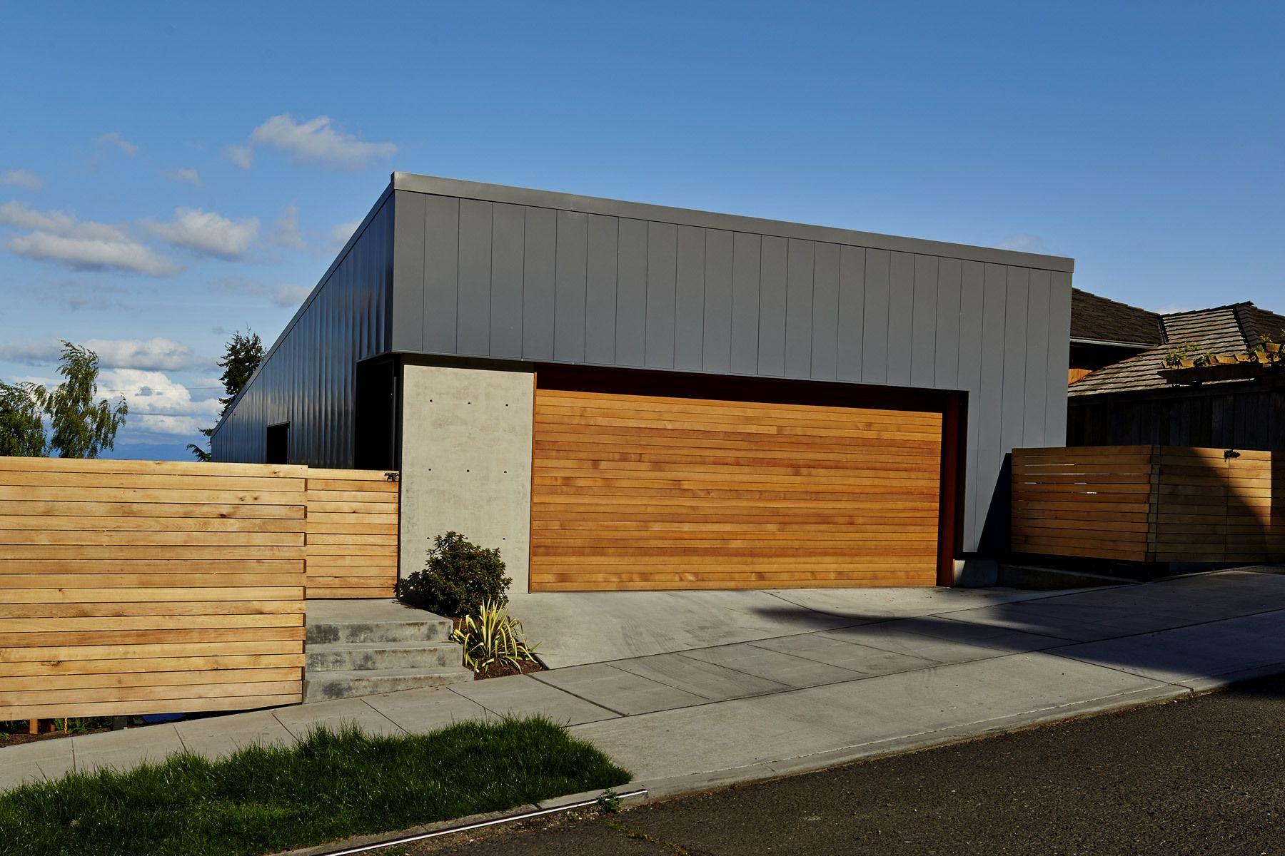 tesla garage front