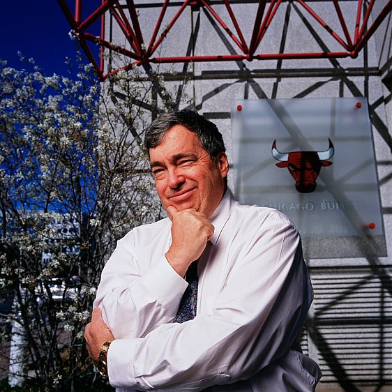 Jerry Krause, former Genreal Manager of Chicago Bulls