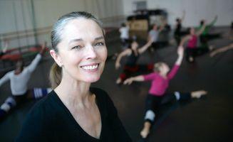 portrait of Janet Eilber of Martha Graham Dance Studio