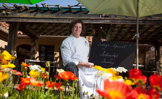 Chef Tom Schmitt at John Ash & Co. in Sonoma