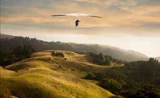 hang gliding in Marin