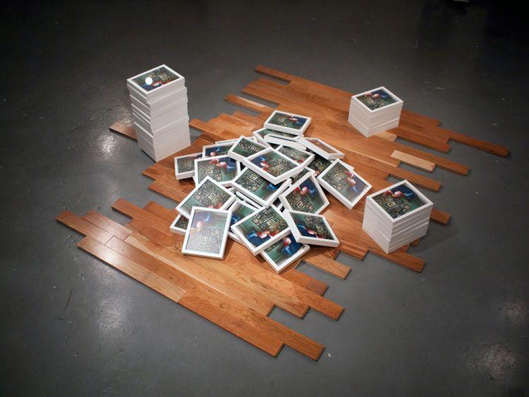 Vanish into thin air (2011)10'x10'