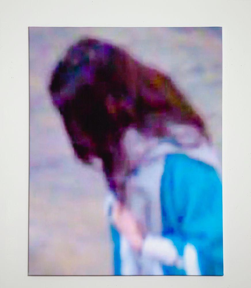 Suspicious pedestrian (2012)11x17 in