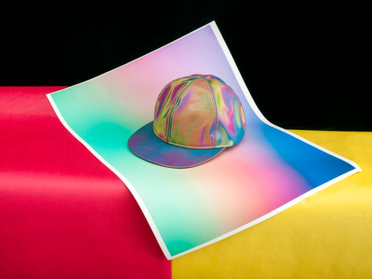 Fitted 3D Cap 2015 (2014)(Back to the future II Marty McFly Cap) / Kodak 3D Cheap ready print glass