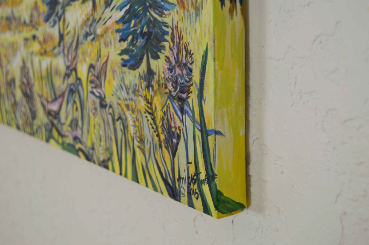 Handpainted Gallery Wrap Giclees