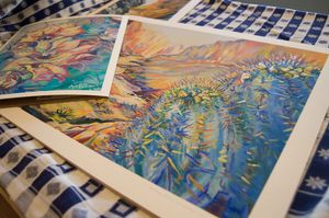 Handpainted Giclees