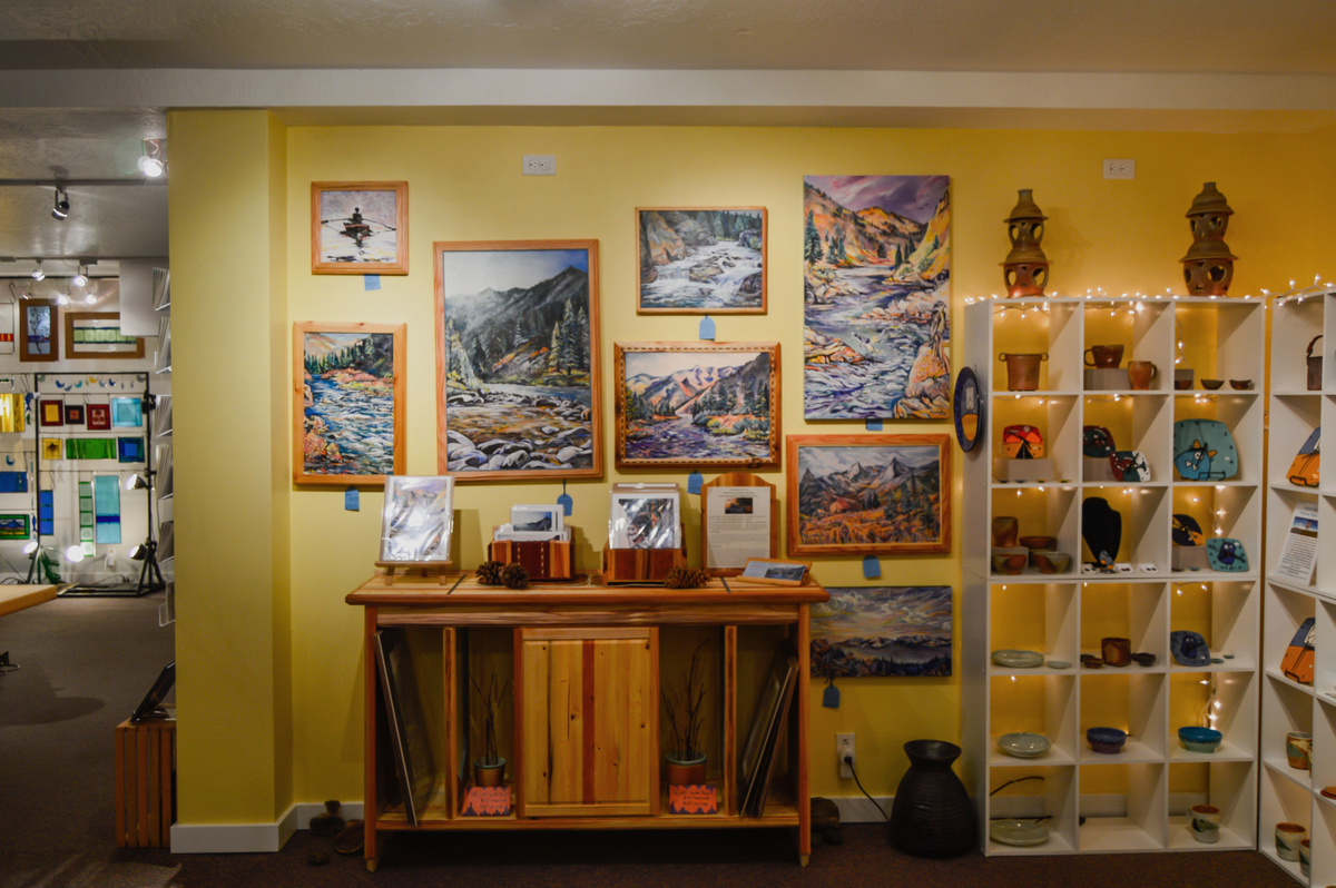 Artist's Shop Display