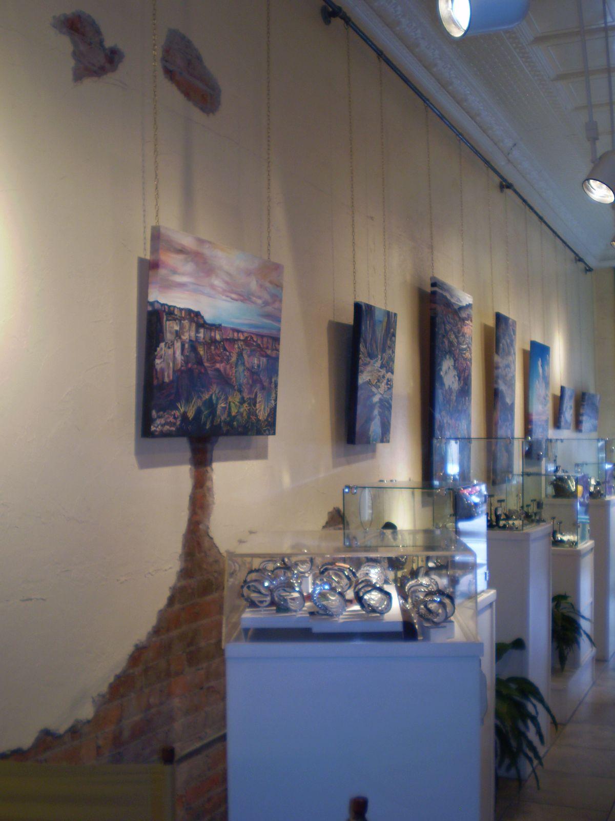 Will Mcnabb gallery, Flagstaff Arizona