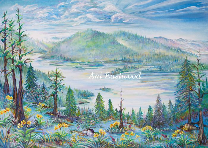 """Salmon Lake, Montana"" 2018"