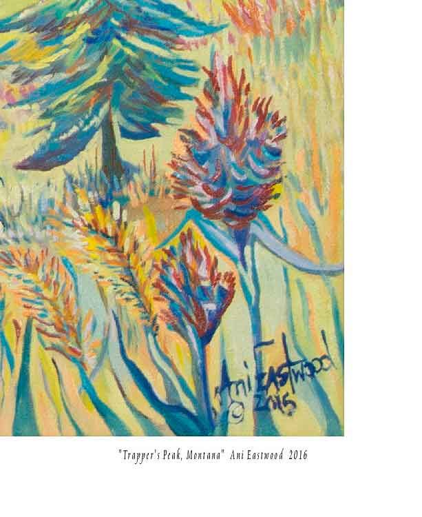 Formatting Giclees with name, and title