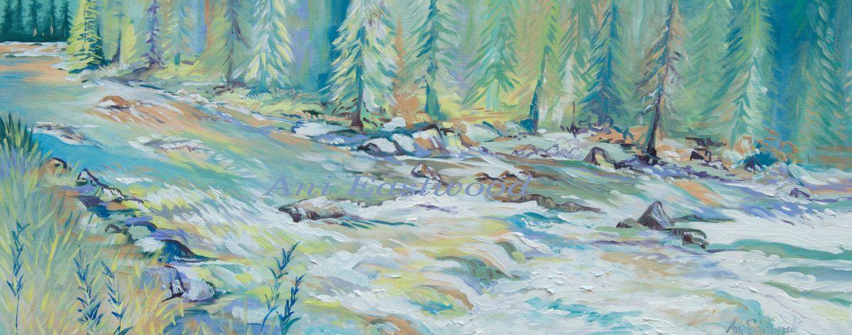 Blackfoot River, Montana Artist
