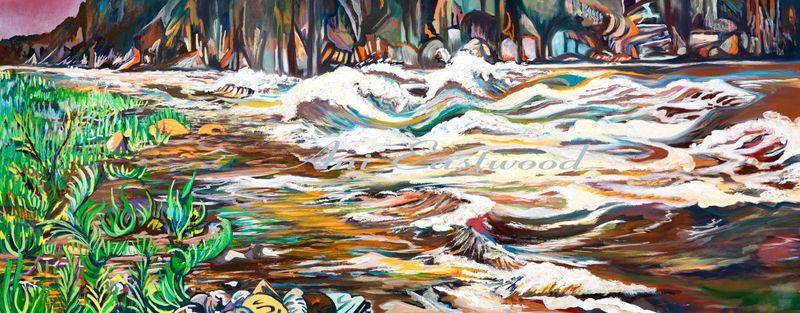 """Granite Rapid, Colorado River"" 2012"