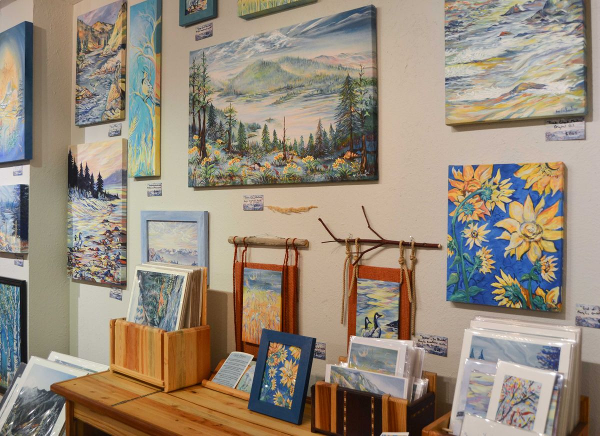 Artist's Shop Gallery, Missoula Montana