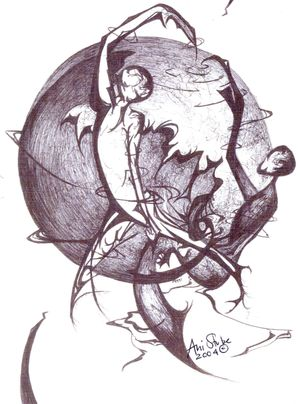 Graphic Arts, two people danciing (original).jpg