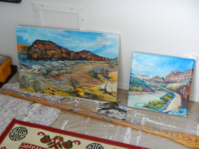 Original Oil Painting commissions in Process
