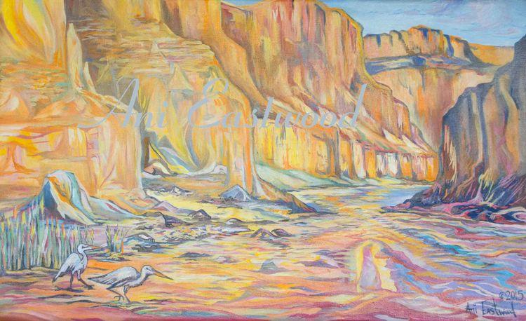 """""""National Canyon, Colorado River"""" 2015"""