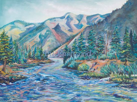 Montana Painting