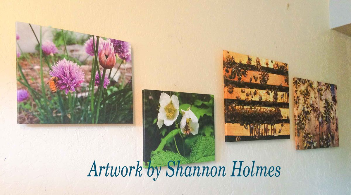 Beautiful Floating Frame Canvas Show Pieces