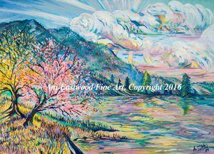 """Cherries on the Flathead, Montana"""