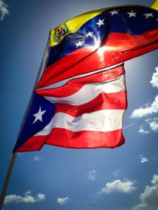 Venezuela-Cuba Flag