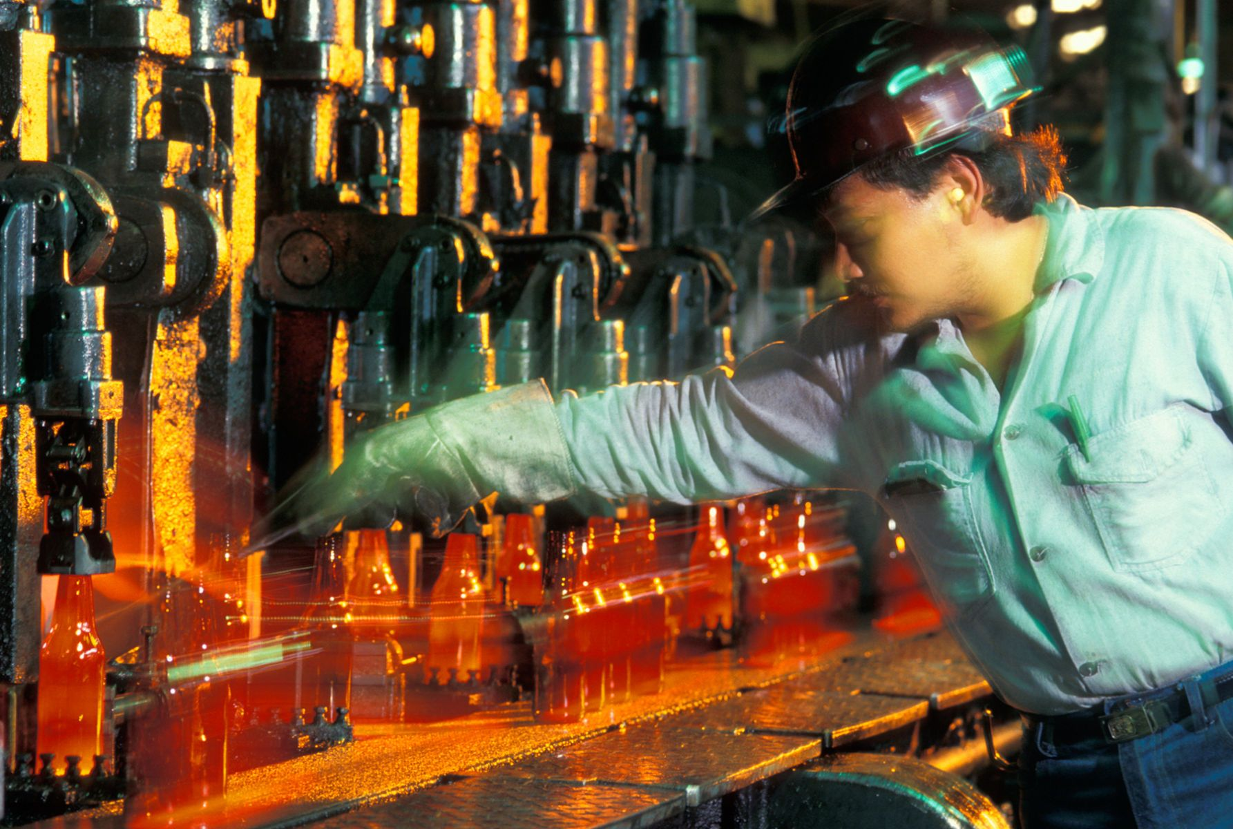 Glass bottle Industry