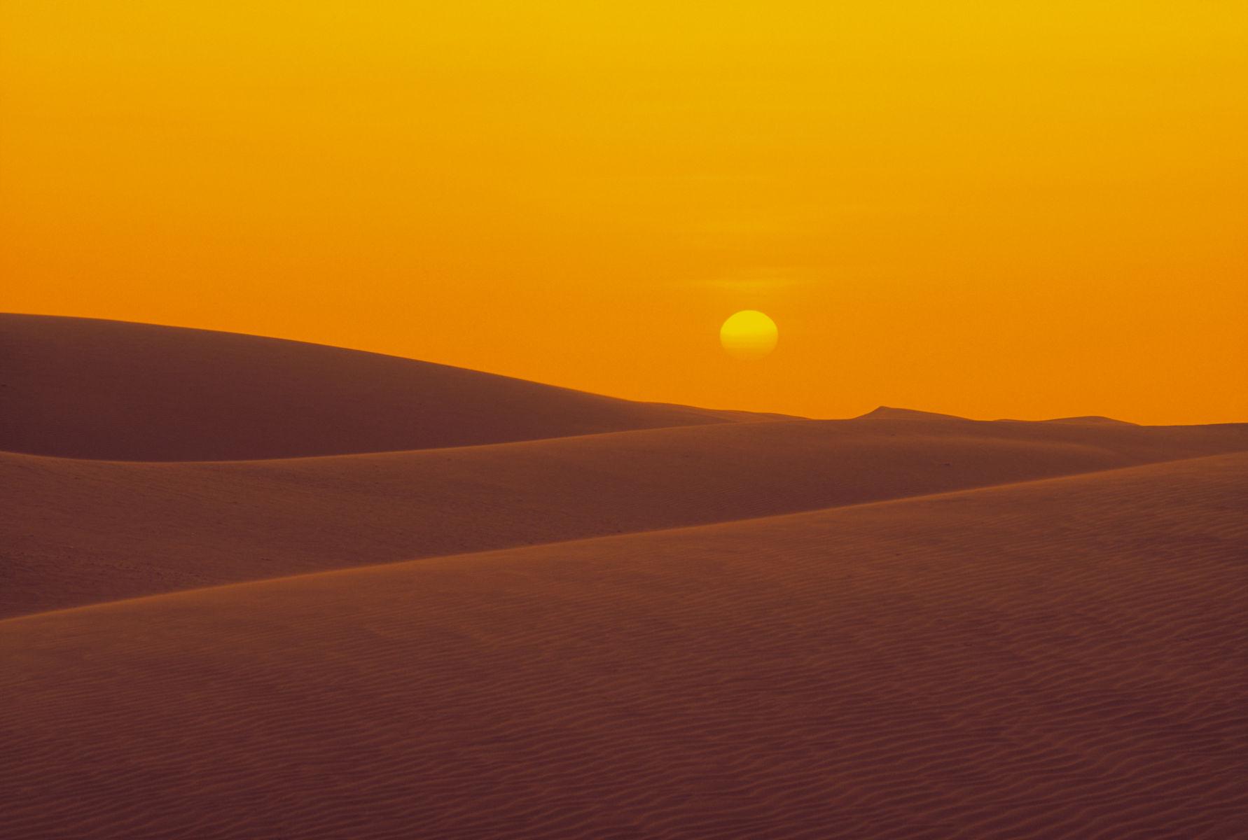 Dunes of Coro desert, Falcón, Venezuela