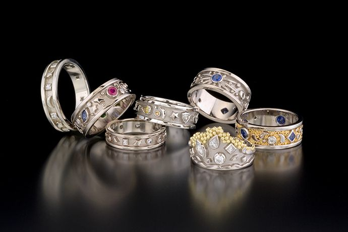 PASSION RING COLLECTION AND TIARA RING